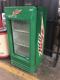 Mountain Dew cooler