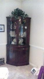 Drexel corner cupboard - we have two