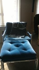 MCM chair and ottoman - we have two