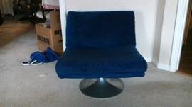 MCM swivel chair