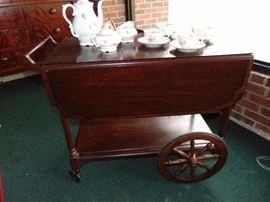 Henkel Harris Tea Cart