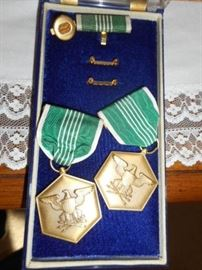 Army Commendation badges