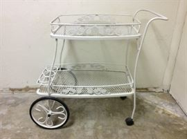 Metal Tea Cart
