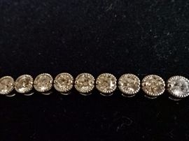 Elegant Diamond Tennis Bracelet