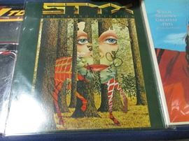 Signed Styx album