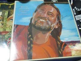 Signed Willie Nelson Album