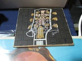 Signed BB King music CD