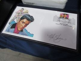 Elvis stamps first day issue