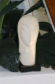 Small White Sculptural Piece