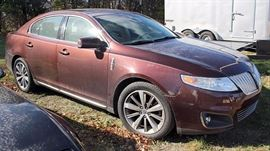 2009 Lincoln MKS Sedan Leather Interior; 105,050 Miles; Power Everything!; Remote Keyless Entry and Start; In-dash Navigation Center; AM/FM Stereo with CD; Microsoft Sync Connectivity, and more. VIN: 1LNHM93R59G616587