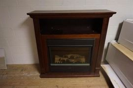 "Temco Electric Fireplace 51""x 16""x 49"" Model TEF 33/36 comes with manual"