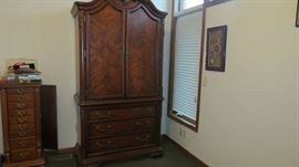 Beautiful Armoire and Jewelry Chest