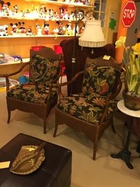 Very nice furniture.   Upholster and leather