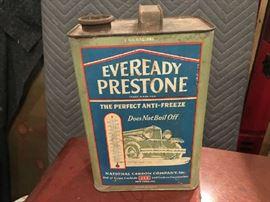 Prestone Oil Can