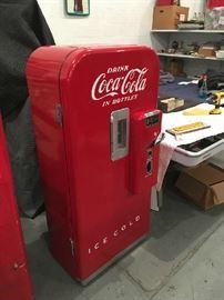 Restored Vendo 39 Coca Cola Machine