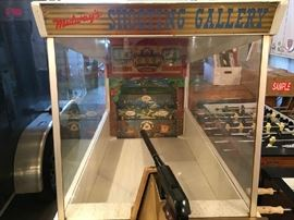 Restored Midway's Shooting Gallery Arcade Game