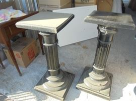 Heavy plant pedestals from France