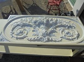 "Frieze Panel (53"" x 24"") Baroque Panel"