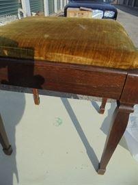 Sewing machine bench