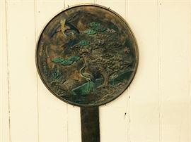 Painted Bronze Geisha Mirror  $525  25% off: $394