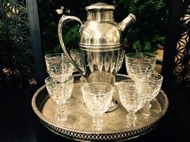 """""""Mad Men"""" Chic Silverplate Cocktail Shaker  $40  25% off: $30"""