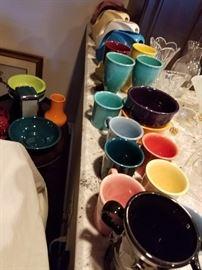 Fiesta Mugs, Fiesta Goblets
