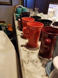 Fiestaware cappuccino mugs