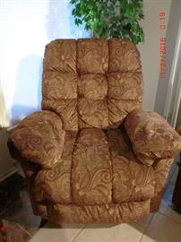 Recliner, one of 2 matching