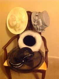 Beautiful vintage hats