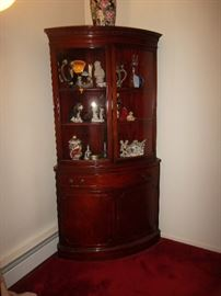 curio cupboard, curio, hutch
