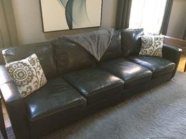 Fine Quality Leather Sofa!