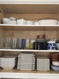 Beautiful French dishes and cookware