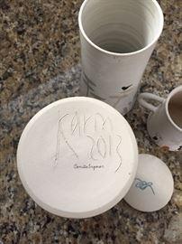Camilla England, pottery