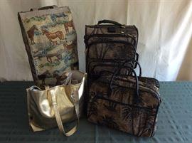Lot # 4 - Miscellaneous Large Purse / Luggage - $ 30.00