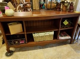 Ethan Allen bookcase, TV stand, or great mudroom piece