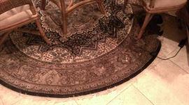 Indian Round Rug