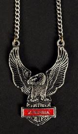 Yamaha Eagle necklace