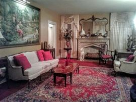 What a magnificent view of Formal Living Room filled with great antique treasures!