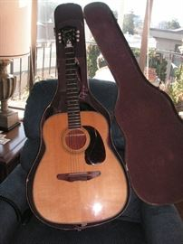 Harmony Sovereign guitar & case