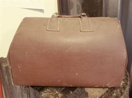 Vintage Leather Medicine Bag