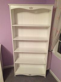 Book shelf - part of girl's bedrooms set - Vermont maker.