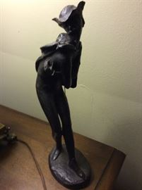 Bronze of Mephistopheles from Foust