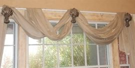 Window treatments are for sale