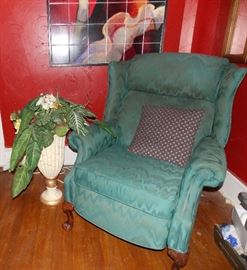 One of two recliners