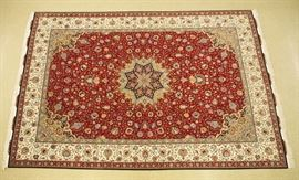 Fine Persian Tabriz with Silk touch