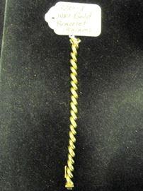 14kt Gold Bracelet