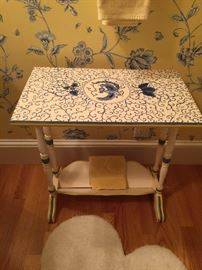 Table Painted by Joan Peters