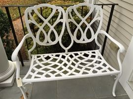 Outdoor Bench -SOLD