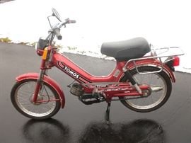 Tomas Bullet 2 Speed Automatic A350 Moped (56 Miles)