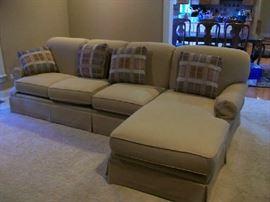 """Berne 114"""" Sofa & Chaise"""